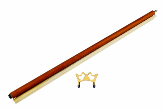 "57"" 2 piece maple pool - billiard bridge stick w/ bridge head"